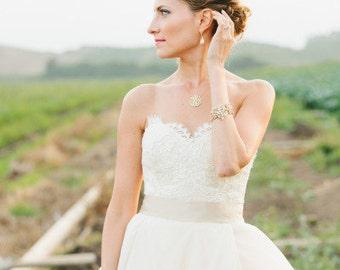 """Wedding Bridal Champagne Ribbon Sash, Wedding Sash, Bridal Sash, Satin Sash  2"""" width 50mm"""