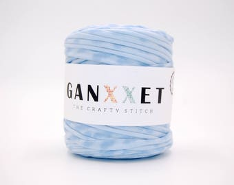 Ganxxet Fabric yarn - Gainesville color  (soft blue with blue print)