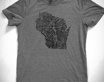 Naturally Made Wisconsin T Shirt