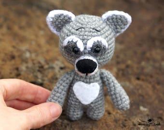 Plush raccoon doll Stuffed raccoon Woodland animal toy Stuffed animal lover gift Raccoon plush toy Plushie Raccoon soft toy Forest animals