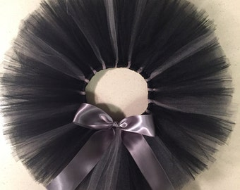Black with Bow option Tutu Tulle Skirt
