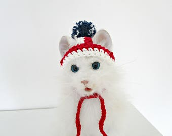 4th of July dog hat July 4th cat hat Cat dog hat Patriotic dog hat Fourth of July hat US flag hat Pet costume Pet holiday outfit 4th of July