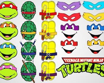 tmnt clipart etsy rh etsy com ninja turtles clip art free ninja turtles clip art free