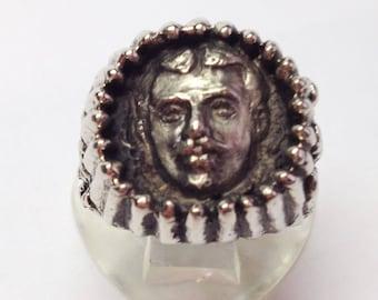 Garegin NjdehSterling Silver Ring