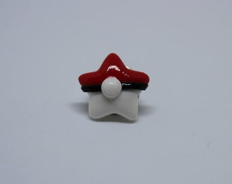 Pokemon Ball Star Pin