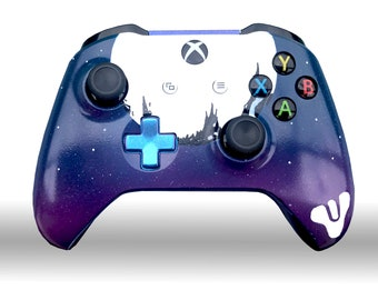 Destiny  The Traveler Galaxy Themed Xbox One Custom Painted Controller