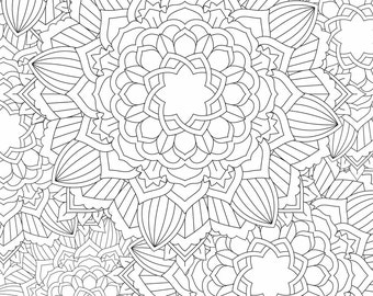 Mandala Coloring Page - Printable Coloring Pages - 03