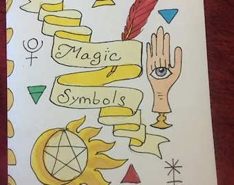 Magical Symbols Zine
