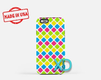 Bold Neon Phone Case, Bold Neon iPhone Case, Frame iPhone 7 Case, Rainbow, Frame iPhone 8 Case, Bold Neon Tough Case, Clear Case, Fancy