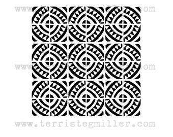 Thermofax Screen - Tiles