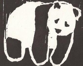 Panda Archival Art Print
