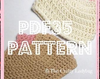 ADULT CONTENT Boobie beanie hat crochet pattern - breast cancer awareness - boob beanie - newborn to adult sizes - digital download