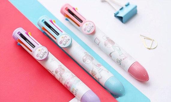 cute Kutusita Nyanko cat Ballpoint pen with charm 1