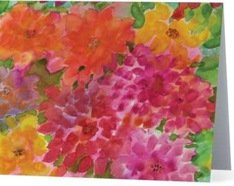 Naw-Rúz Card , Baha'i Greeting Card, Baha'i Note Card, Baha'i New Year Card