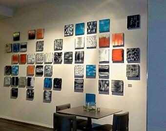 Modern Wall Art | Hospitality Art | Lobby Art | Wood Wall Sculpture | Large Wall Art | Abstract Art | Hotel Art | Rosemary Pierce Modern Art