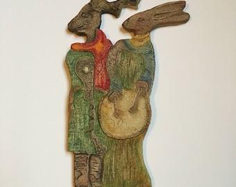 Medieval Minstrels Wall hanging 1