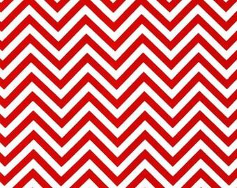 Robert Kaufman Chevron AAK-10394-3 RED by Ann Kelle from Remix