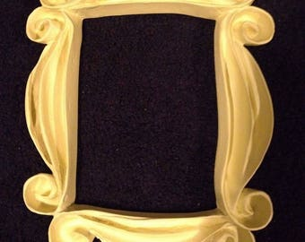 Friends TV Series show Peephole Yellow Frame Seen on Monica's Door - FREE SHIPPING!
