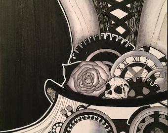 Steampunk Witch ORIGINAL