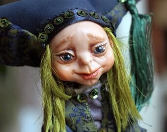 Art doll - OOAK doll - OOAK art doll - Handmade doll - Home decor doll - Collecting doll - Art dolls - Housewarming doll - Clay doll