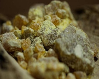 Benzoin from the Indias - resin