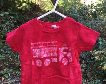 Kids Fire Truck Shirt, Red Fire Truck Shirt, Boys Fire Truck Shirt, Fire Engine Shirt, Kids Truck Shirt, Girls Fire Truck Shirt (18 months)