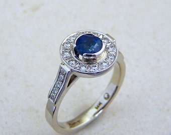 Sapphire ring, blue sapphire ring gold, sapphire gold Ring, sapphire and diamond ring, blue ring, blue stone, blue stone ring, blue gemstone