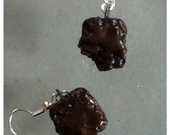 Fudgey Brownie Earrings
