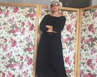 linen dress women, dress for women, long sleeves dress, linen womens clothing, minimalist dress linen, women dress, long dress, linen dress