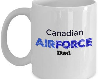Coffee Mug for Canadian Air Force Dad