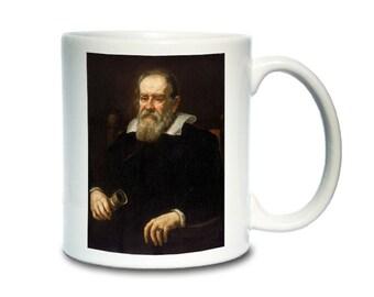 Coffee Mug; Galileo Galilei