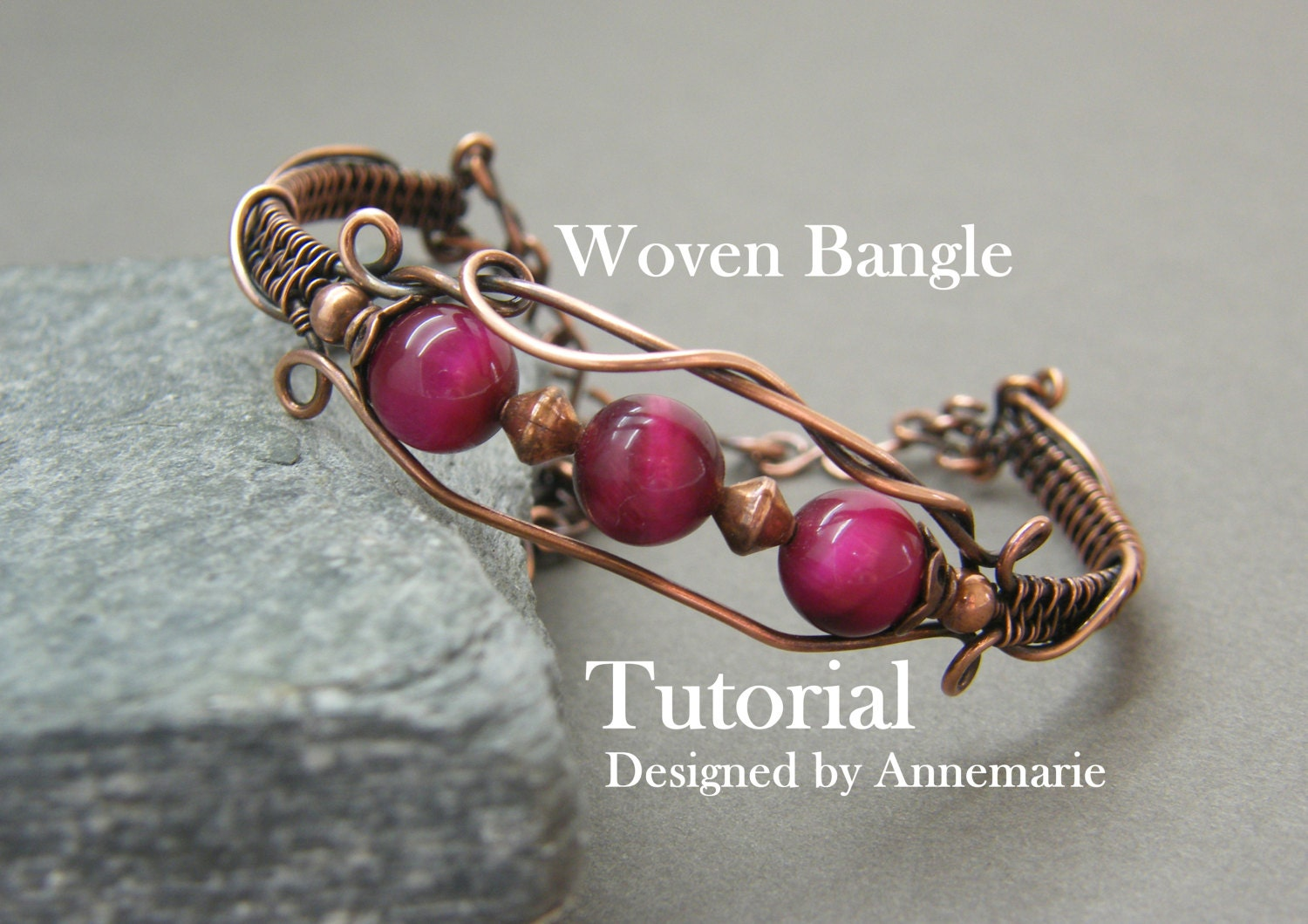Wire wrap tutorial handmade jewelry instructions pdf zoom baditri Images