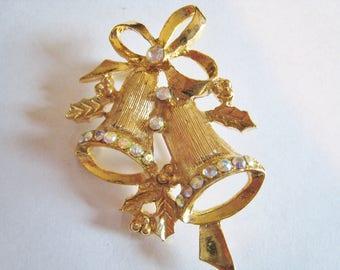Christmas Bell Pin