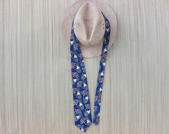 DISNEY Tie MICKEY UNLIMITED Mickey Mouse Copyrighted Print Balancine Inc. The Tie Works Paisley Vintage Necktie - Oahu Lew's Shirt Shack