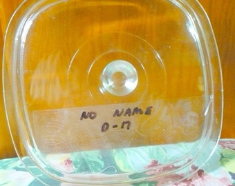 Replacement Lid - D 17 - No Name - Square - 7 1/2 Inner Lid x 8 3/4 Outer Lid - Read Below