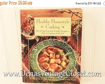 Vintage 1994 Healthy Home Cooking Cook Book by Evelyn Tribole