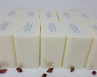 10 lb CREAMY GOAT'S MILK Melt And Pour Soap Base Goats Goat Glycerin 100 All Natural Wholesale Bulk
