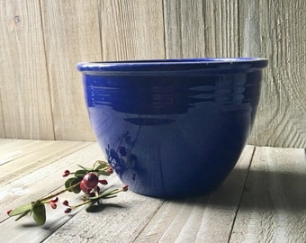 Vintage Fiestaware - Mixing Bowl #2, Cobalt