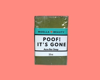 Poof! It's Gone Acne Face Bar