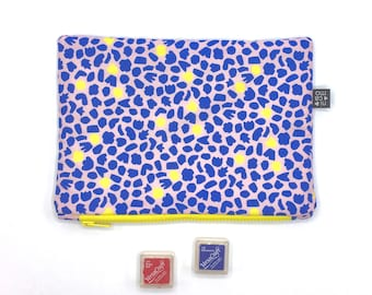 Pouch Large with nicamo print-clutch