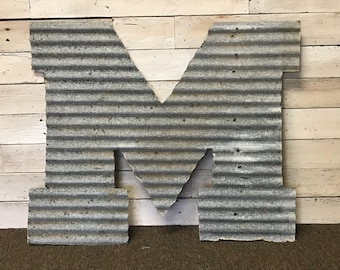 Barn Tin Letters, Barn Tin Numbers, Barn Tin Signs, Rustic Letters, Metal Letters, Metal Signs, Rustic Decor, Rustic Wedding Decor, Monogram