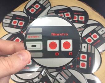 Nintendo: NES Classic Retro Controller | Sticker