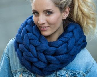 Macaron Cowl. Premium Collection, Extra Fine Merino wool (19-micron merino wool)