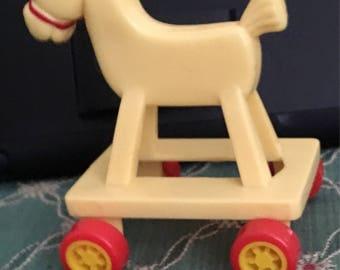 Very Vintage McDonalds Toy Horse