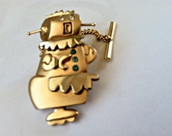 Rosy The Robot Tie Tack/Pin