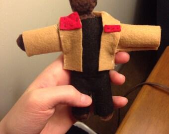 Star Wars Finn pocket-size doll