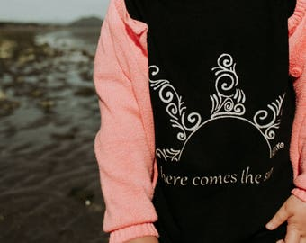 Multiple Options ~ Here Comes the Sun Kids Tee - Original and Ethical fashion