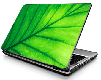 Plant leaf laptop sticker notebook decal netbook skin unique green
