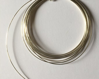 Sterling Sliver Square Wire. 24 gauge Half Hard Wire. 5 feet length. bulk packages.