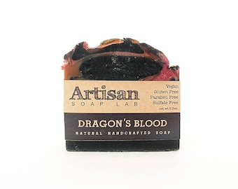Dragon's Blood Handcrafted Soap